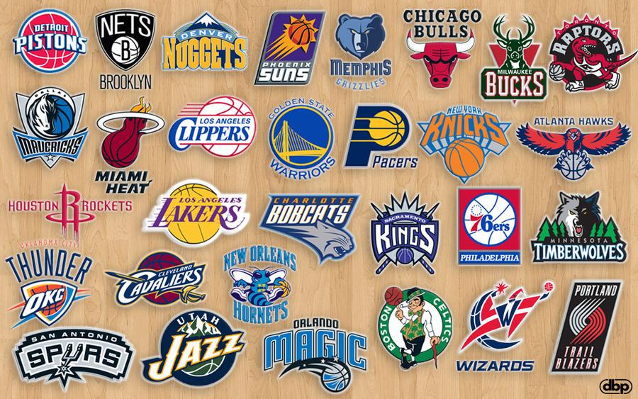 NBA Teams By Danielboveportillo