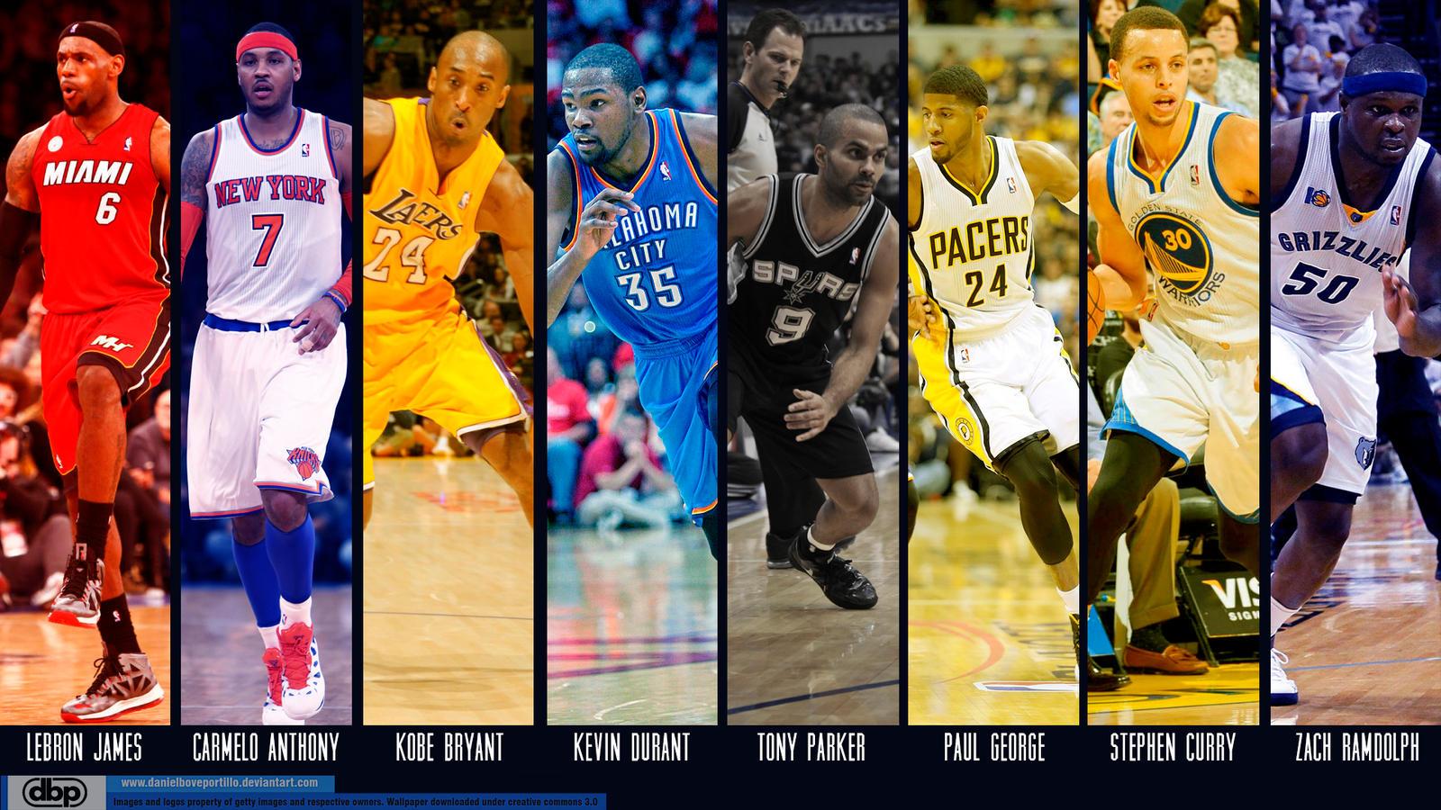 NBA Stars 2013 By Danielboveportillo