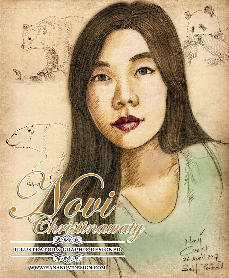 self portrait by hananovie