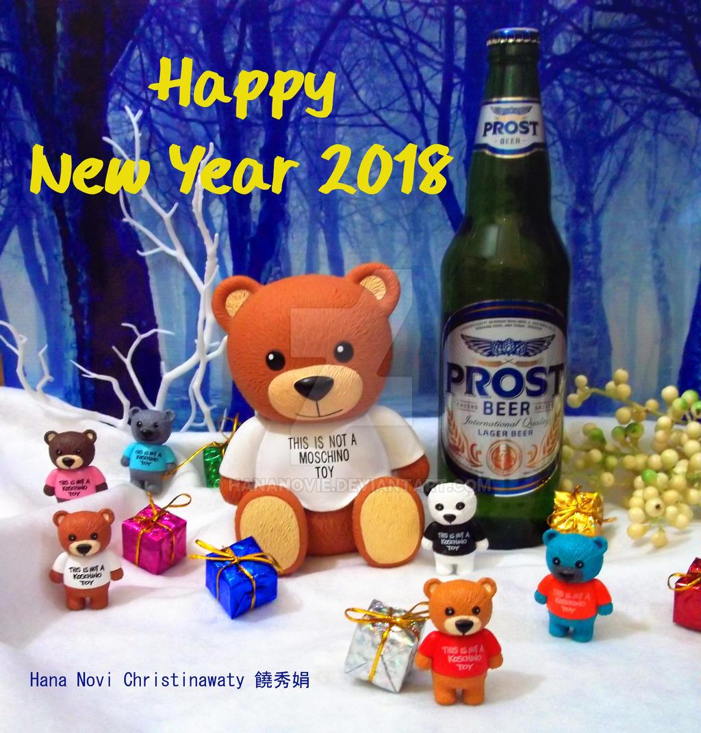 happy new year 2018 by hananovie