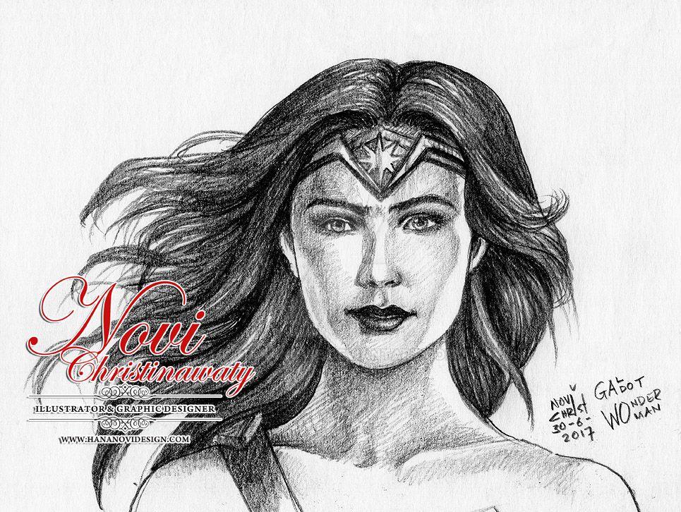 Wonder  Woman  -  Gal Gadot by hananovie