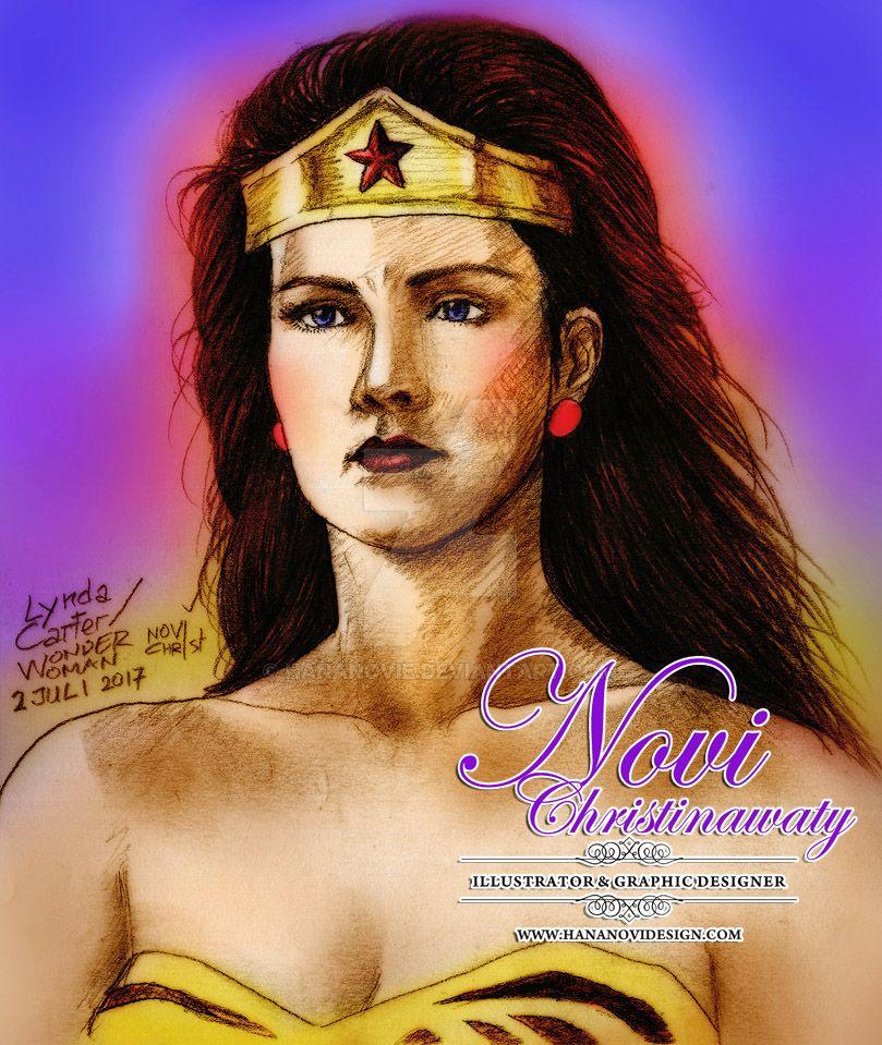 Lynda Carter - Wonder Woman by hananovie
