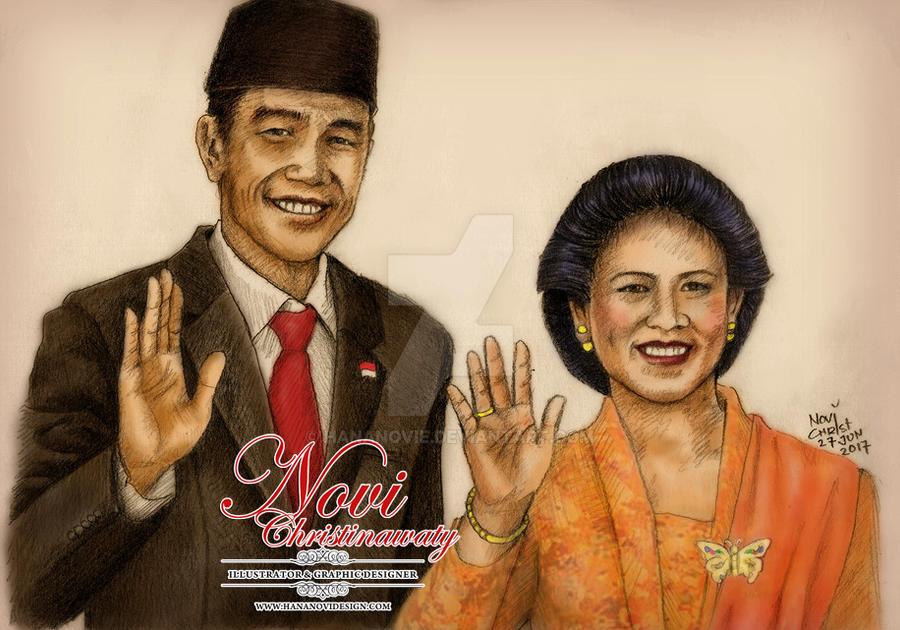 Mr.Joko Widodo -the 7th President of Indonesia by hananovie