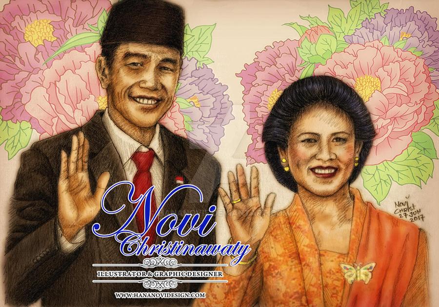 Mr.Joko Widodo  - the 7th President of Indonesia by hananovie