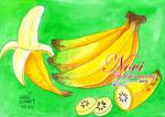 Watercolor - Banana