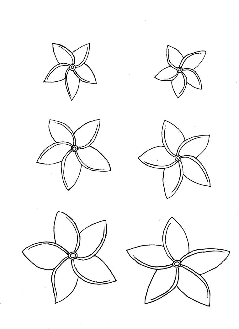 Plumaria Free Coloring Pages