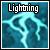 Lightning Icon by Stormygiovanna