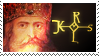 Charlemagne stamp by Undevicesimus