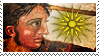 Alexander the Great stamp by Undevicesimus