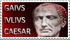 Gaius Julius Caesar stamp by Undevicesimus