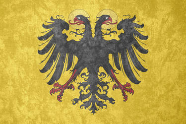Holy Roman Empire ~ Grunge Flag (1433 - 1806) by Undevicesimus