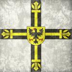 Teutonic Order ~ Grunge Flag (1230 - 1525)