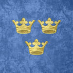 Kingdom of Sweden ~ CoA Grunge Flag (1525 - )