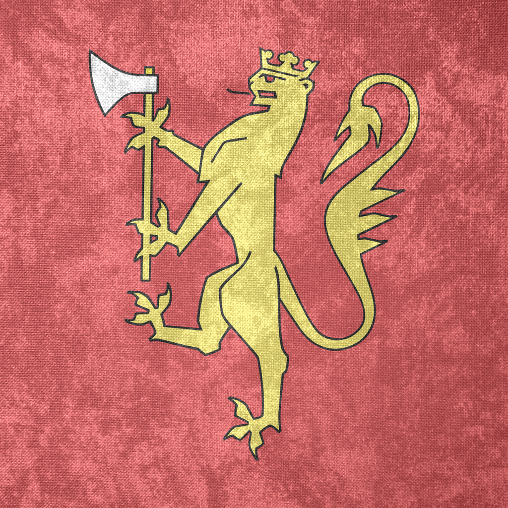 kingdom of norway coa grunge flag 1280 by undevicesimus on