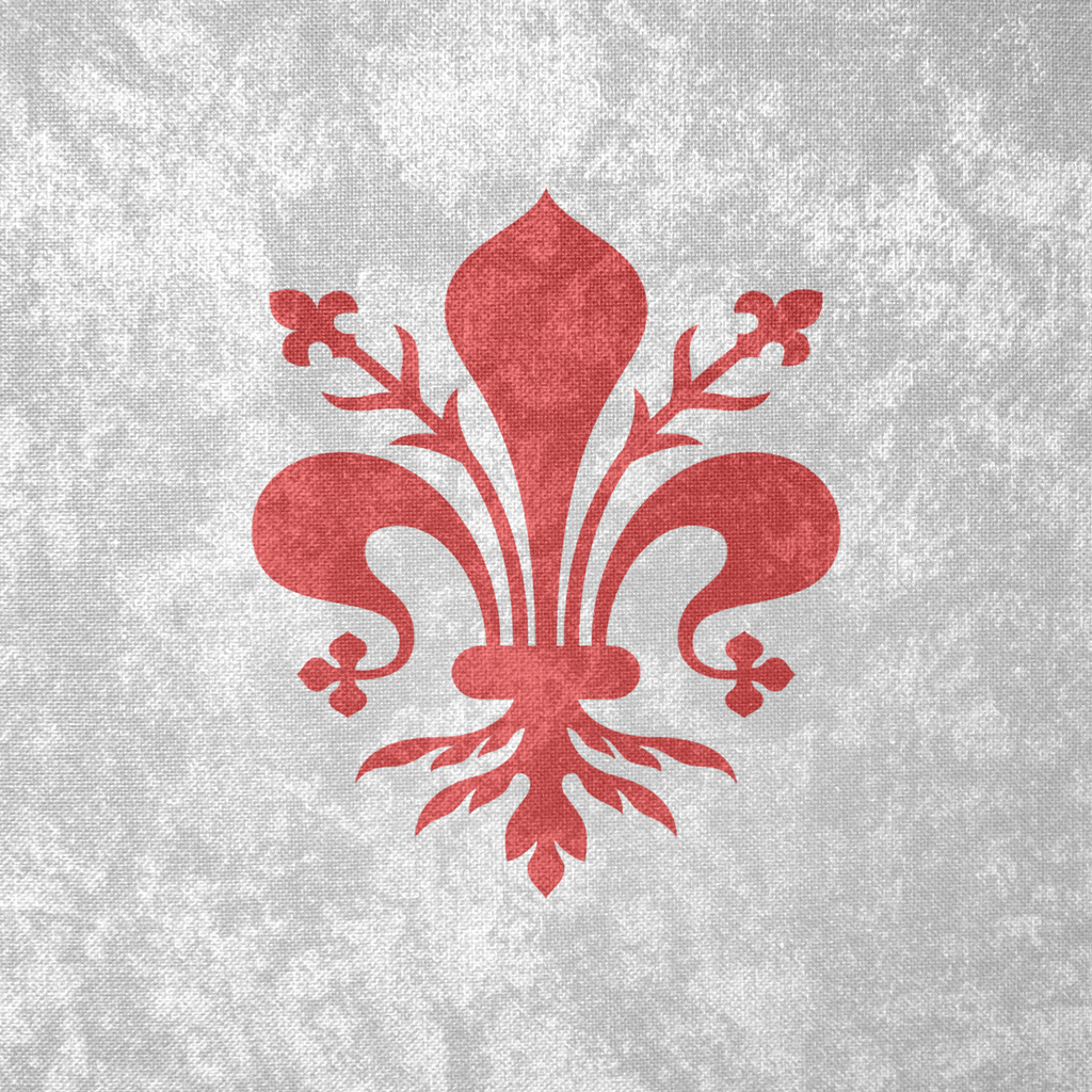 Republic of Florence ~ Grunge Flag (1260 - 1531) by ...