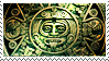 Aztec Calendar stamp by Undevicesimus