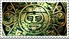 Aztec Calendar stamp by Undevicesimus