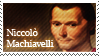 Niccolo Machiavelli stamp by Undevicesimus