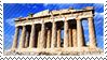 Parthenon stamp by Undevicesimus