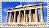Parthenon stamp by Undevicesimus