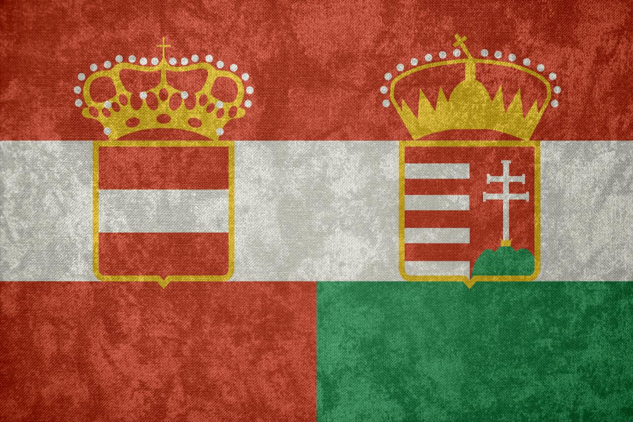 Austria-Hungary ~ Grunge Flag (1867 - 1918) by ...