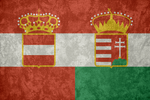 Austria-Hungary ~ Grunge Flag (1867 - 1918)