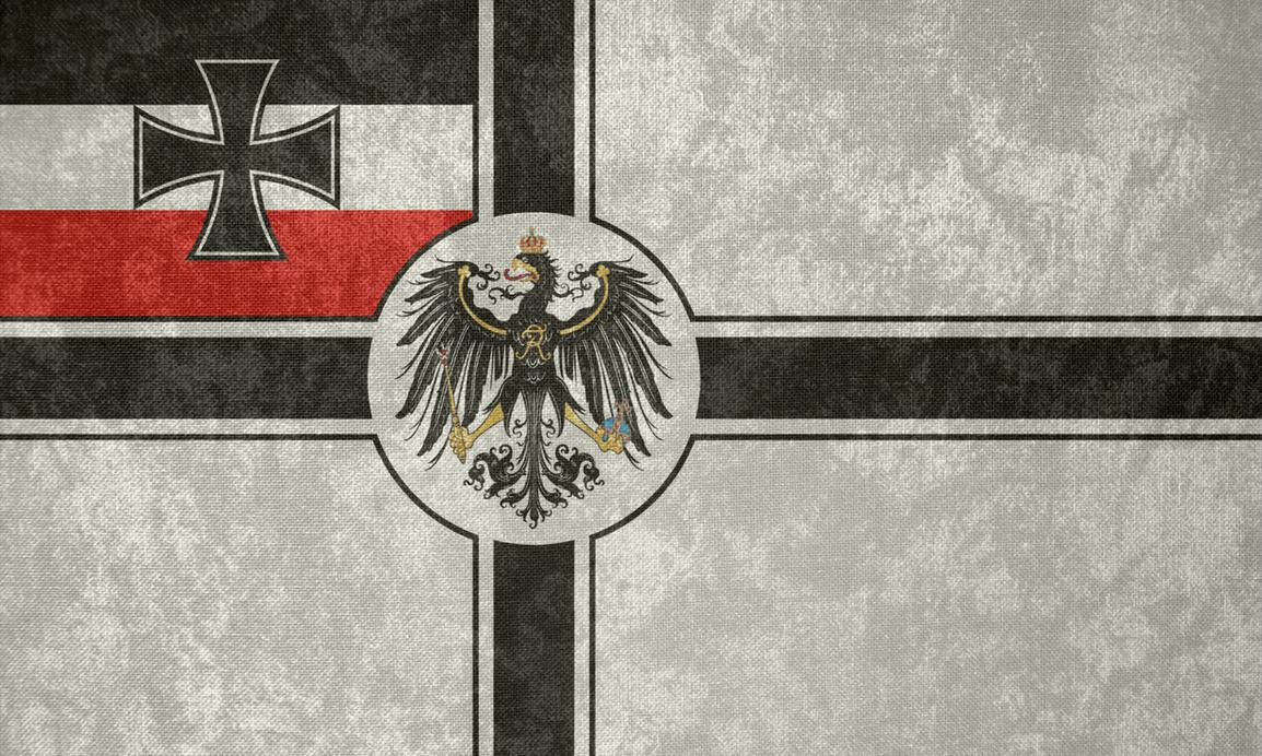 German Empire ~ Grunge War Flag by Undevicesimus