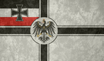 German Empire ~ Grunge War Flag
