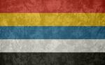 Republic of China ~ Grunge Flag (1912 - 1928)