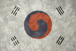 Korean Empire ~ Grunge Flag (1882 - 1910)