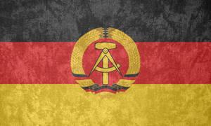 East Germany ~ Grunge Flag (1959 - 1990)
