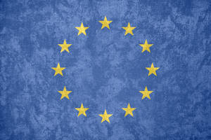 European Union ~ Grunge Flag (1955 - ) by Undevicesimus