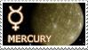 Mercury stamp by Undevicesimus