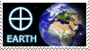 Earth stamp by undevicesimus
