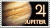 Jupiter stamp by Undevicesimus