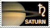Saturn stamp by Undevicesimus