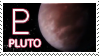 Pluto stamp by Undevicesimus