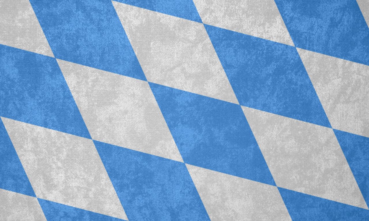 Kingdom of Bavaria ~ Grunge Flag (1878 - 1918) by ...