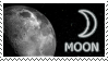 Moon stamp by Undevicesimus