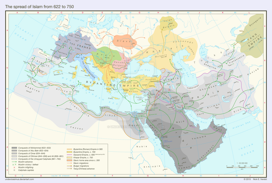 the impact of the umayyad dynasty on the spread of islam On numerous occasions within the abbasid caliphate, the shia sect of islam formed  their territory was spread  even though the umayyad dynasty is.