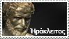Heraclitus stamp by Undevicesimus