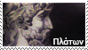 Plato stamp by Undevicesimus