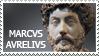 Marcus Aurelius stamp by Undevicesimus