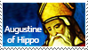 Augustine of Hippo stamp by Undevicesimus