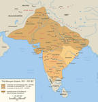 The Mauryan Empire, 322 - 232 BC
