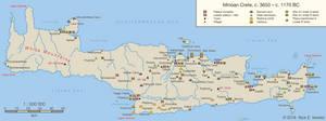 Minoan Crete, c. 3650 - c. 1170 BC