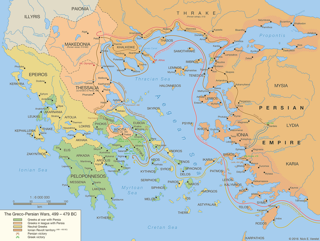 First Persian War – Ancient Greece