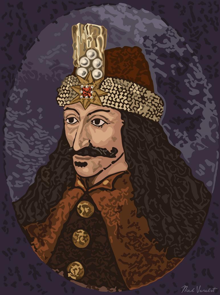 Vlad III Dracula (portrait) by Undevicesimus