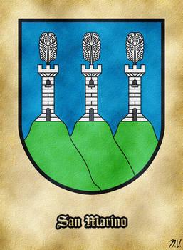 Arms of San Marino