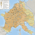 The Empire of Charlemagne to 814